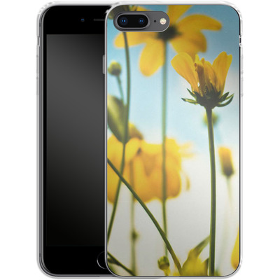 Apple iPhone 8 Plus Silikon Handyhuelle - Goldilocks von Joy StClaire
