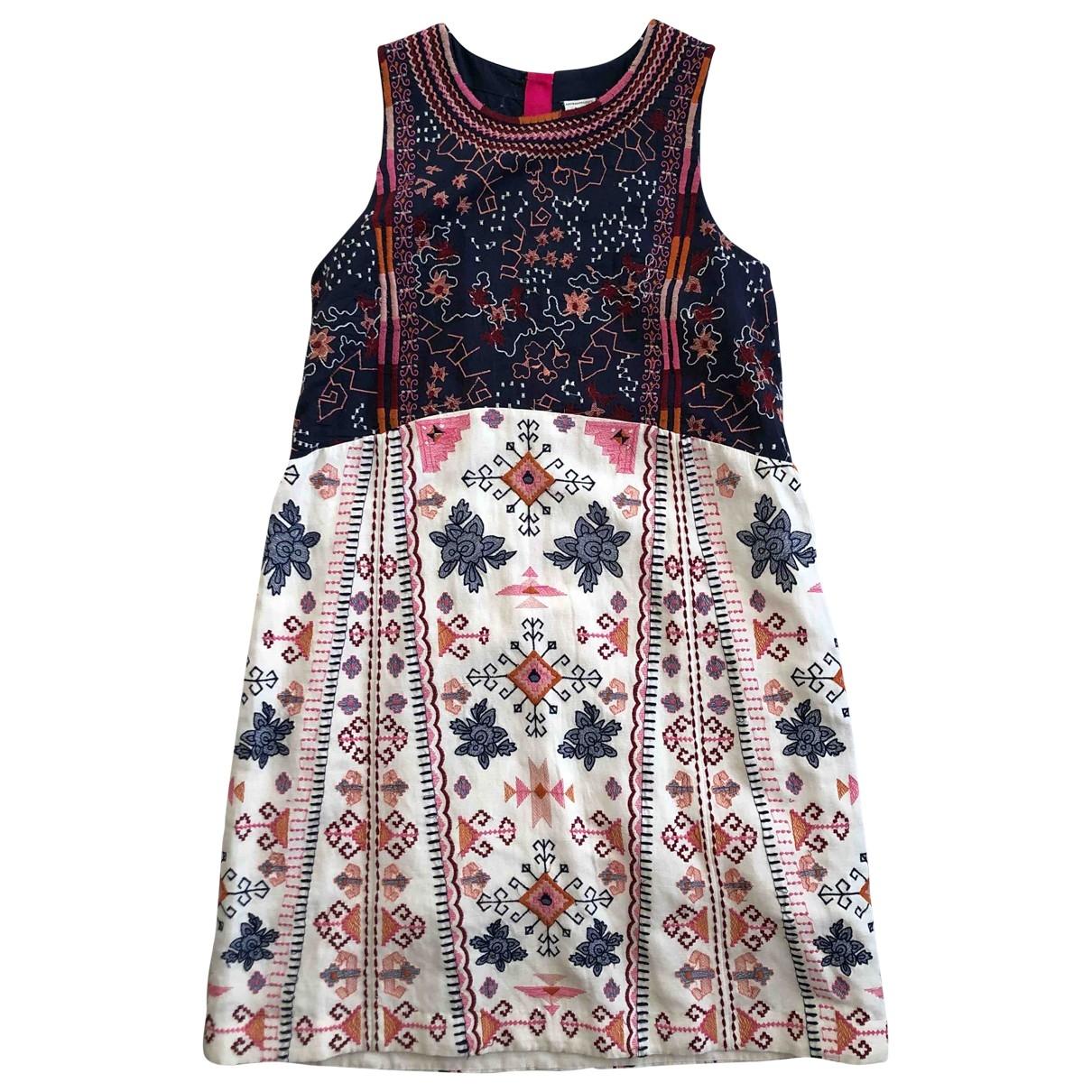 Anthropologie \N Kleid in  Bunt Baumwolle