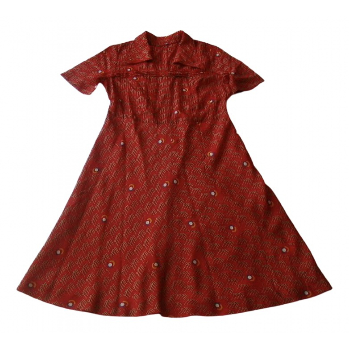 Non Signé / Unsigned \N Red dress for Women M International