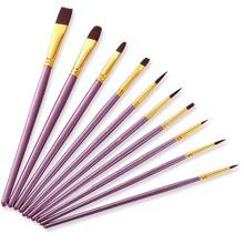 10pcs Oil Painting Brush