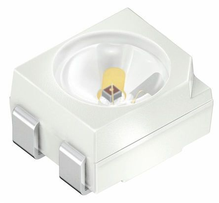 Vishay 2.9 V Red LED PLCC 2 SMD,  VLMT3100-GS08 (50)