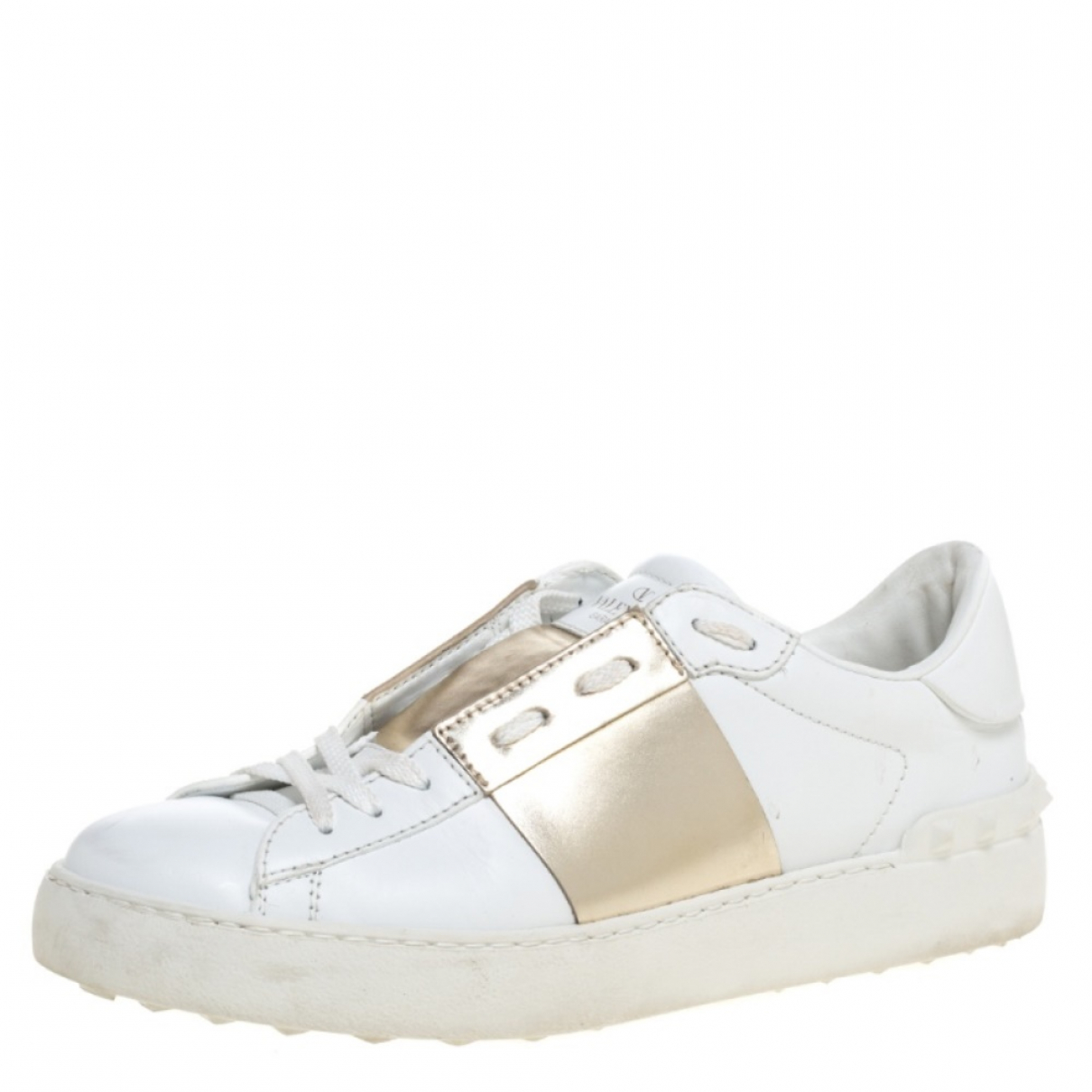 Autre Marque N White Leather Trainers for Women 7 US
