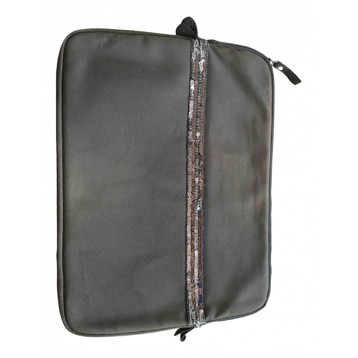 Vanessa Bruno N Khaki Cloth Clutch bag for Women N