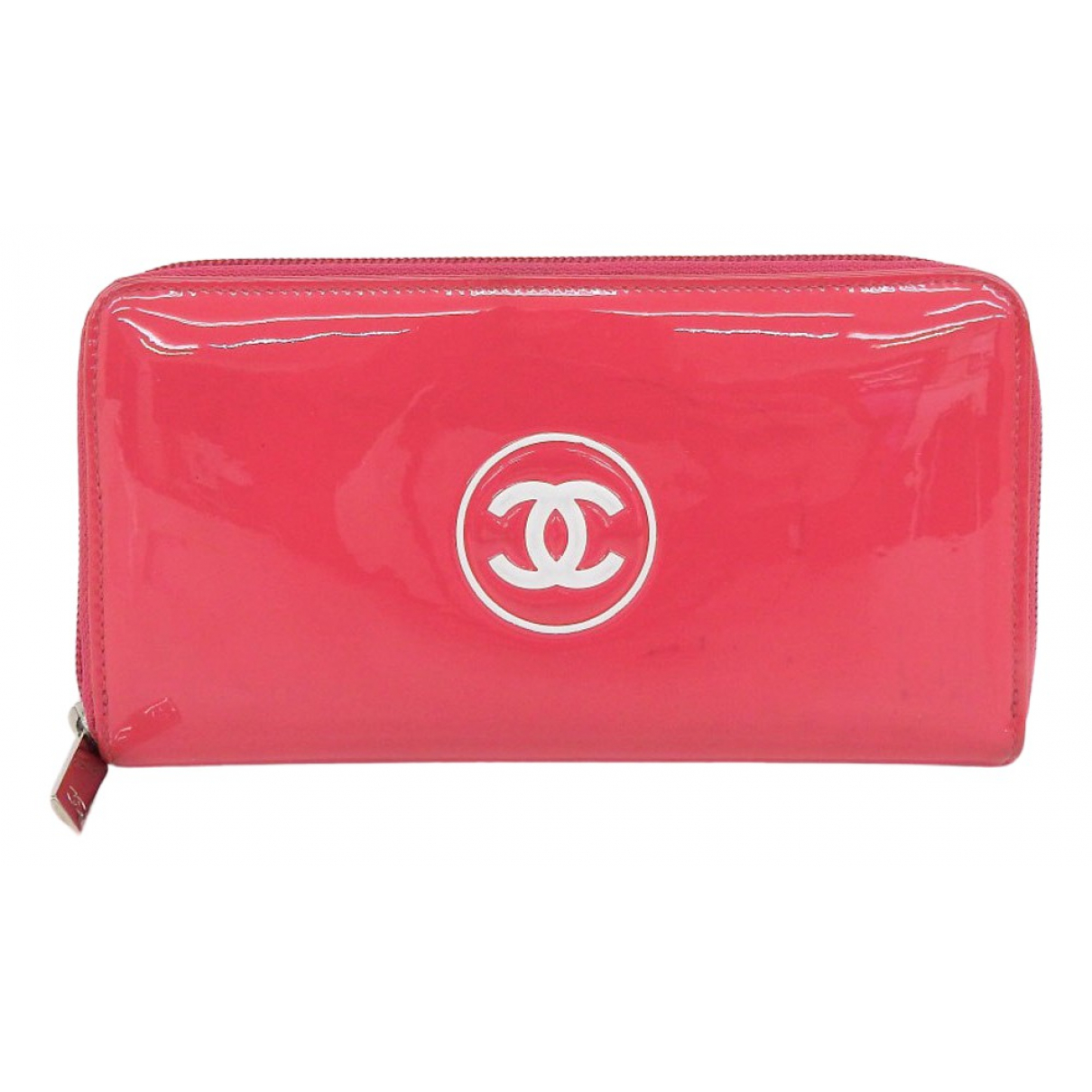Chanel \N Pink Patent leather wallet for Women \N