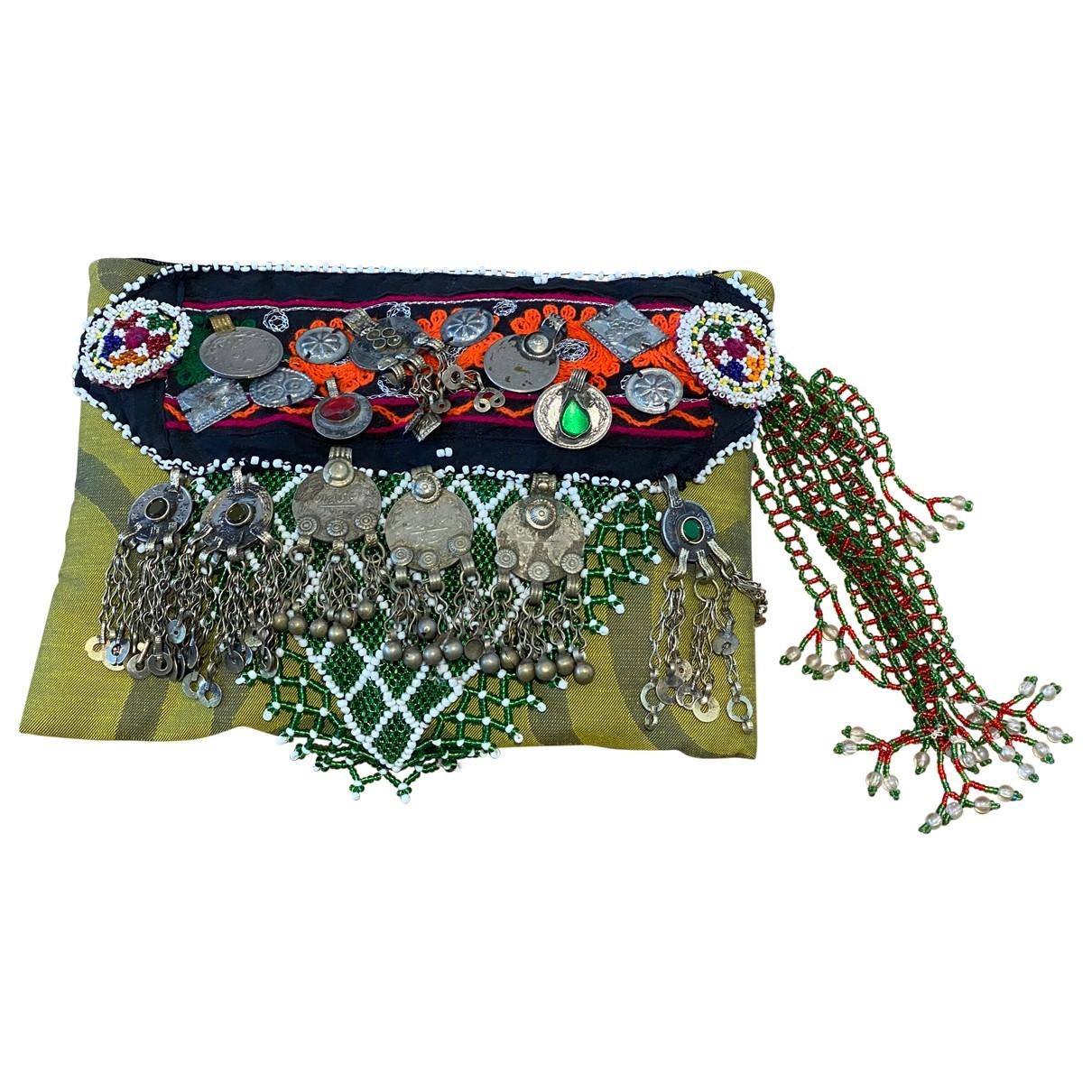 - Pochette Hippie Chic pour femme en metal - multicolore