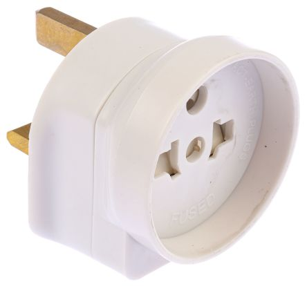 RS PRO UK to Europe Travel Adapter, Rated At 13A