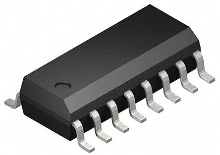 Analog Devices ADM2491EBRWZ, Line Transceiver, EIA/TIA-485-A, RS-422, RS-485, 16-Pin SOIC W