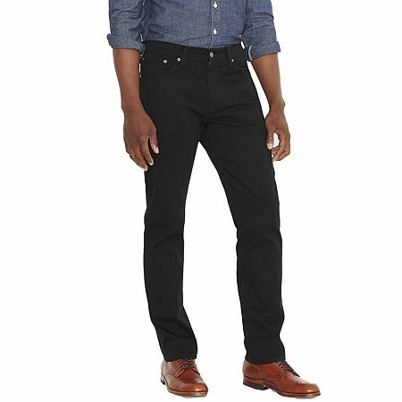 Levi's Mens 541 Tapered Athletic Fit Jean, 39 34, Black