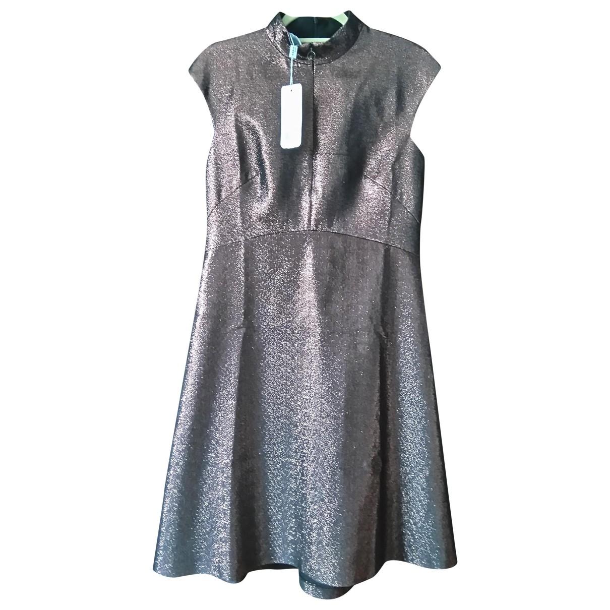 Akris Punto - Robe   pour femme en coton - marron