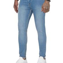 Jeans mit Reissverschluss und Waschung