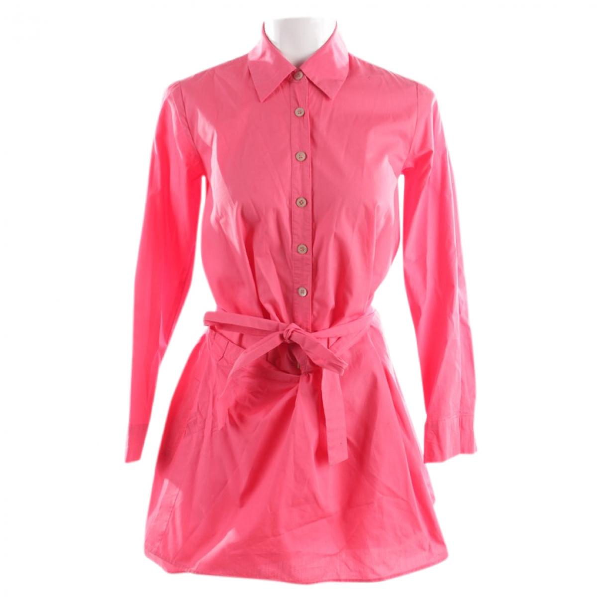 Thakoon Addition - Robe   pour femme en coton - rouge
