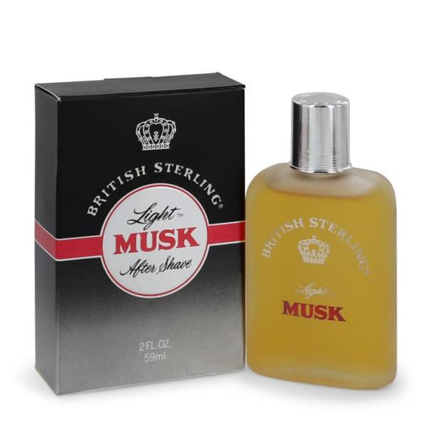 British Sterling Light Musk - Dana Aftershave 60 ml