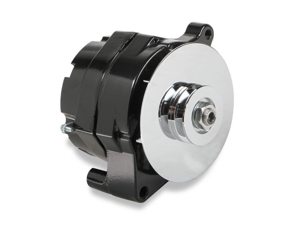 Mr. Gasket 1-Wire Alternator - 100 Amp - Black Finish