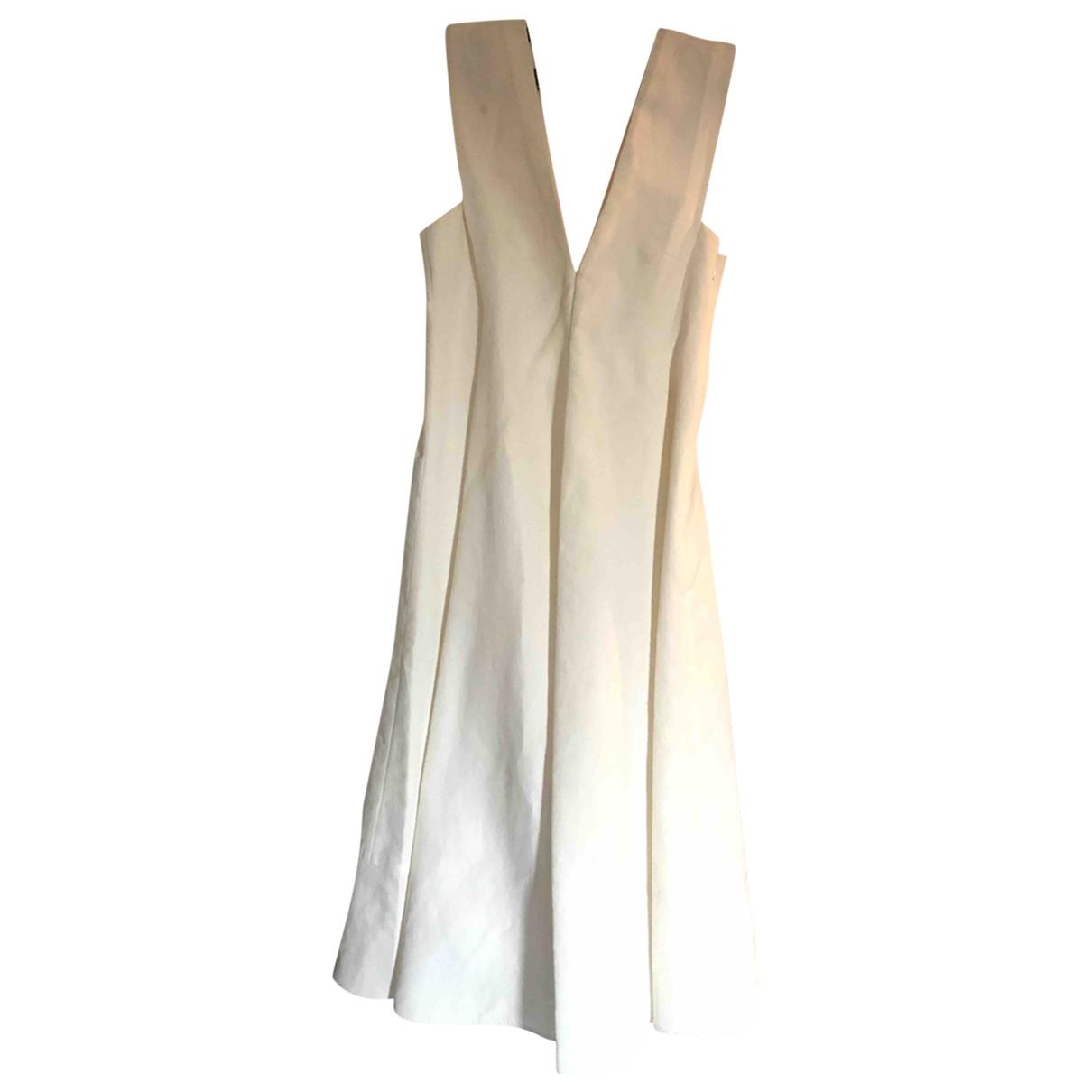 Marni \N White Cotton dress for Women 40 FR