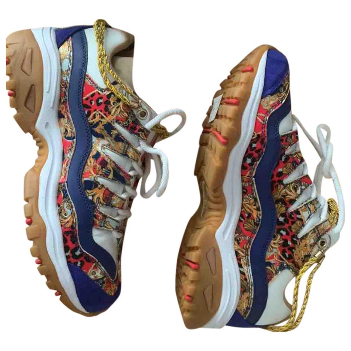 Skechers \N Sneakers in  Bunt Leinen