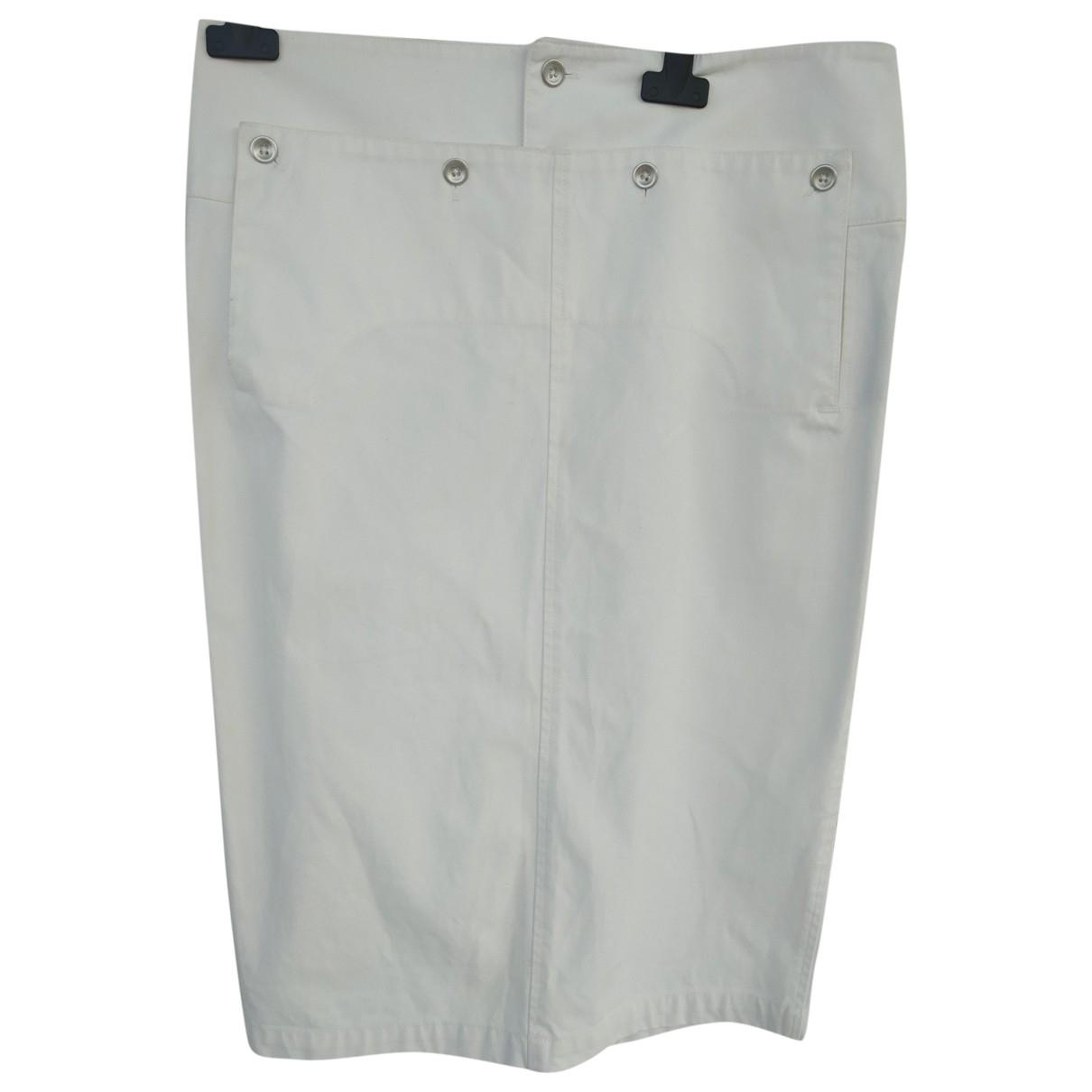 Ralph Lauren - Jupe   pour femme en coton - blanc