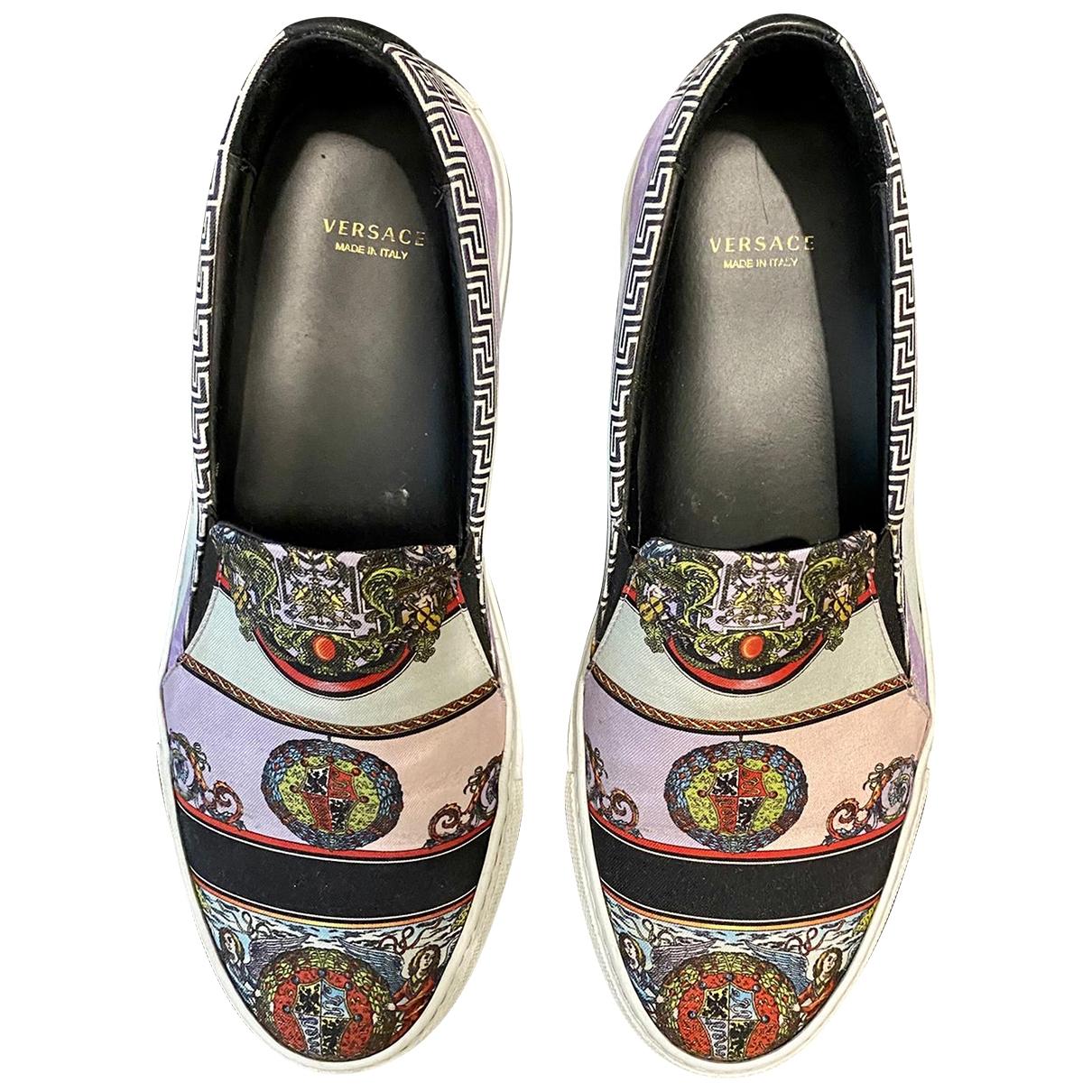 Versace \N Sneakers in  Rosa Leinen