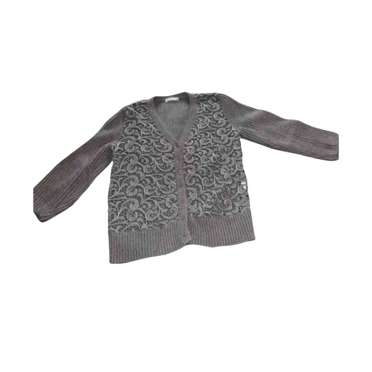 Dolce & Gabbana \N Black Wool Knitwear for Women 42 IT