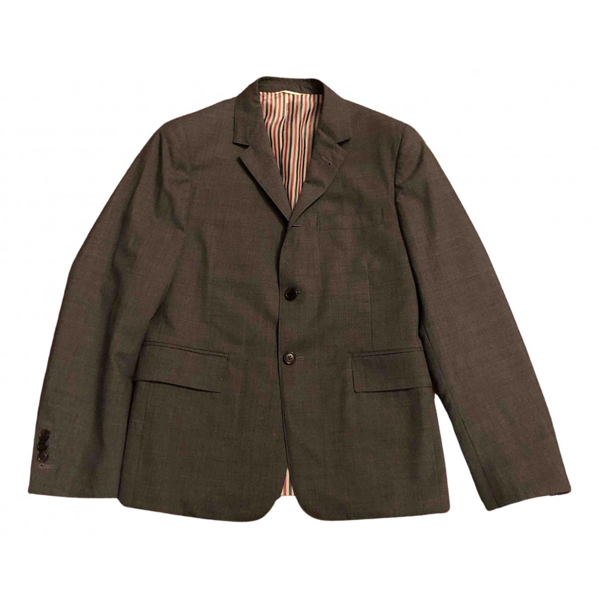 Thom Browne N Grey Wool Suits for Men 1 0 - 6