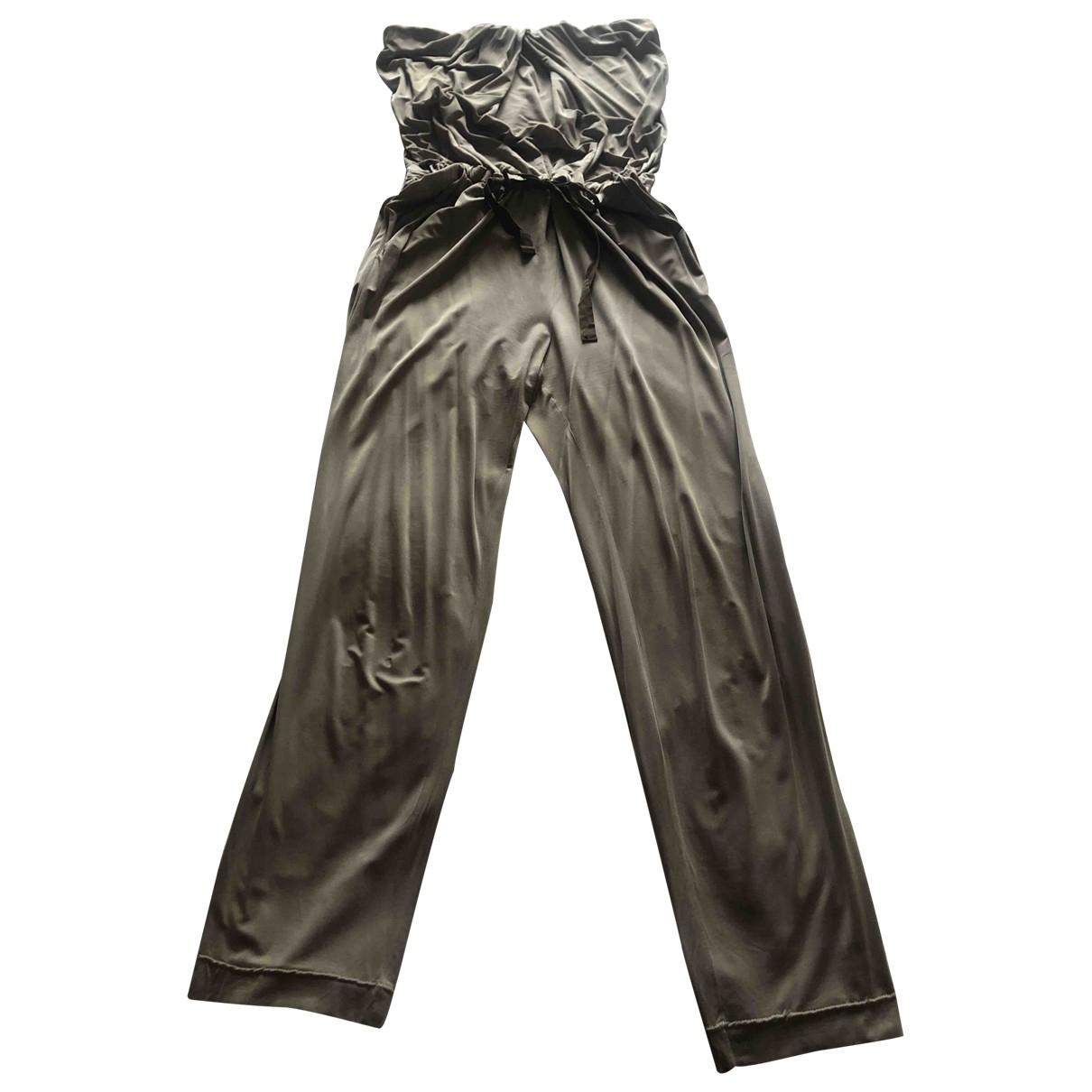 Trussardi \N Grey jumpsuit for Women 40 IT