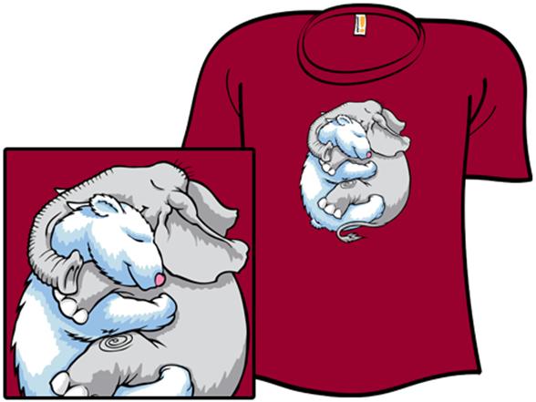 Polarsnugglephant T Shirt