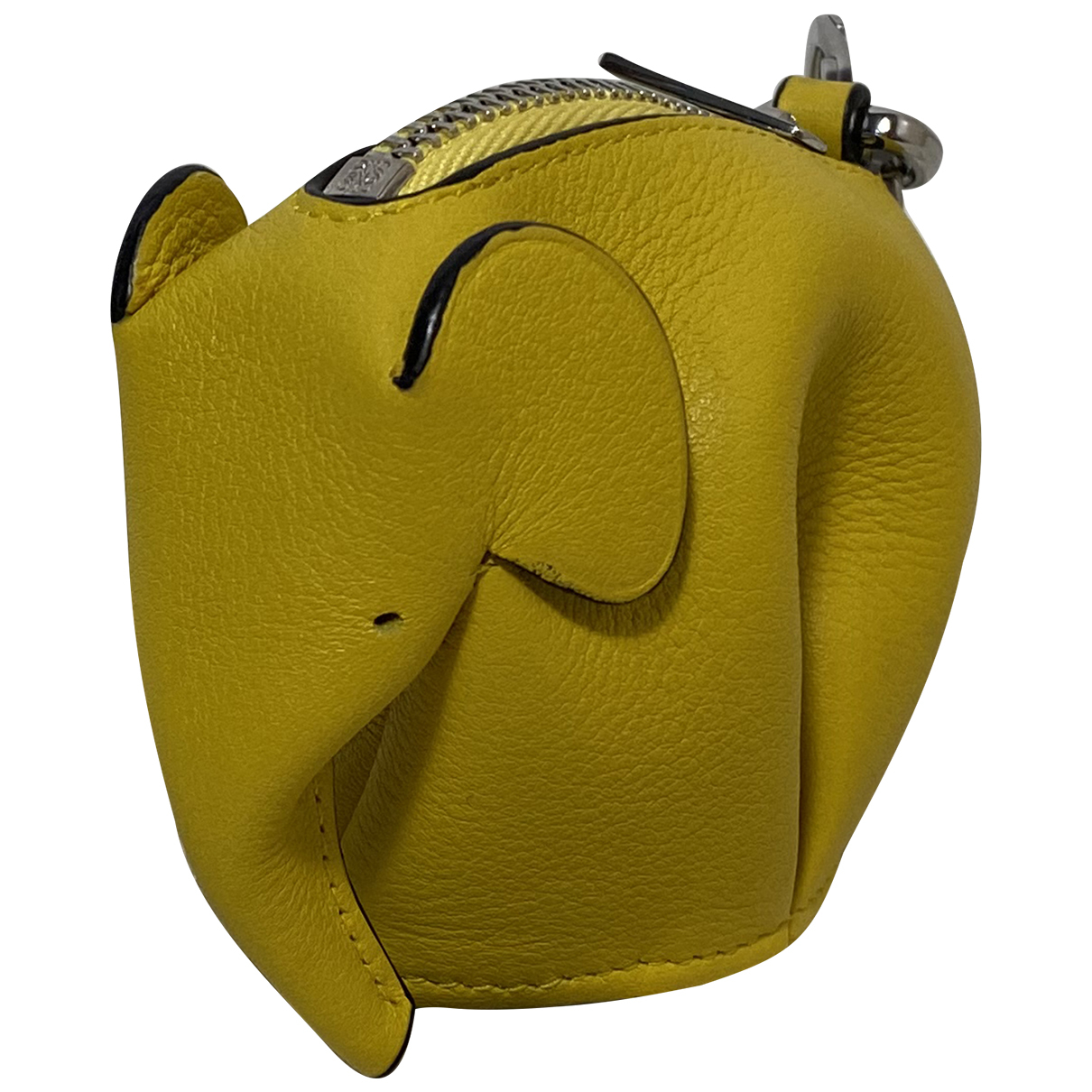 Loewe Animals Yellow Leather Purses, wallet & cases for Women N