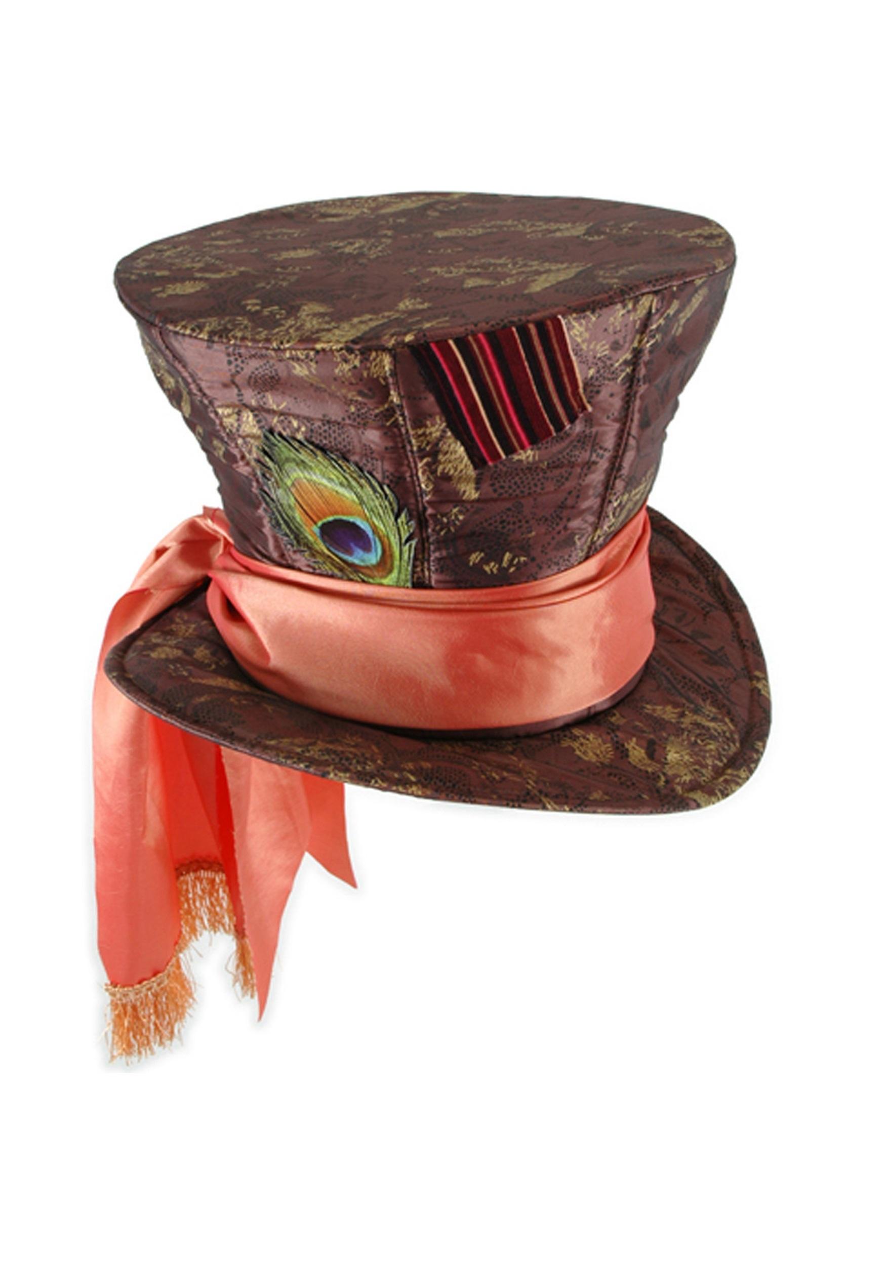 Mad Hatter Wonderland Top Hat