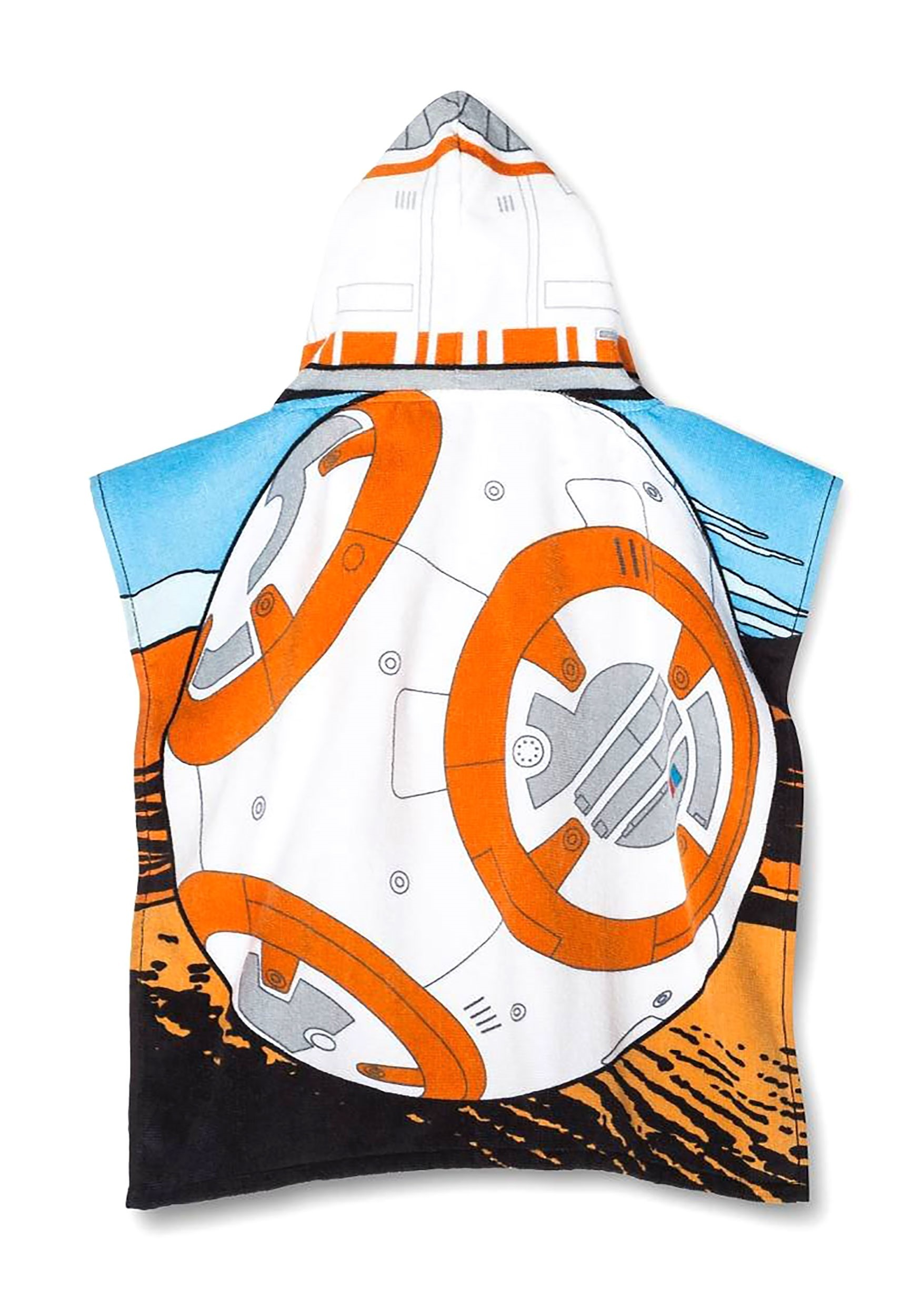 BB-8 Star Wars Hooded Towel Poncho