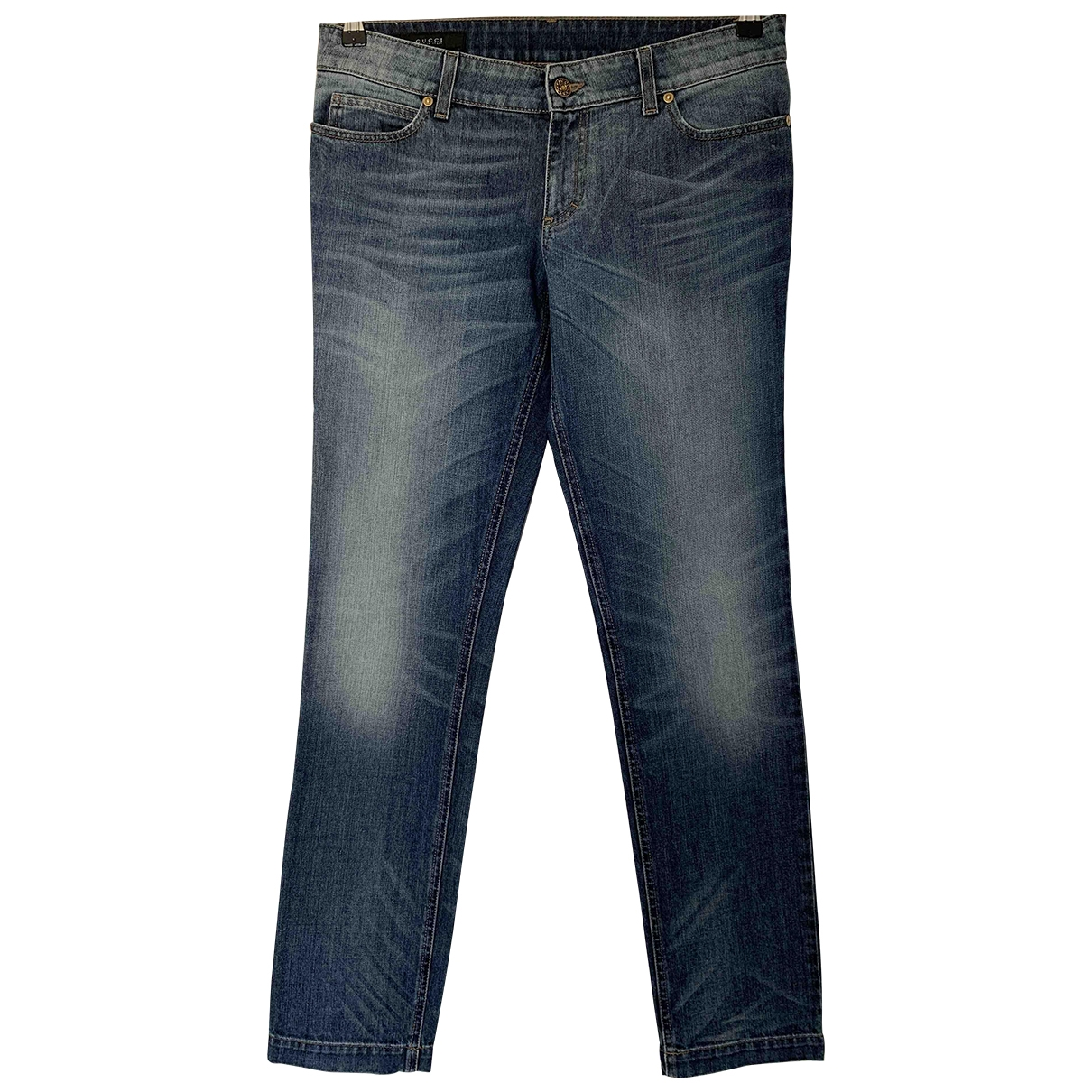 Gucci \N Blue Cotton - elasthane Jeans for Women 29 US