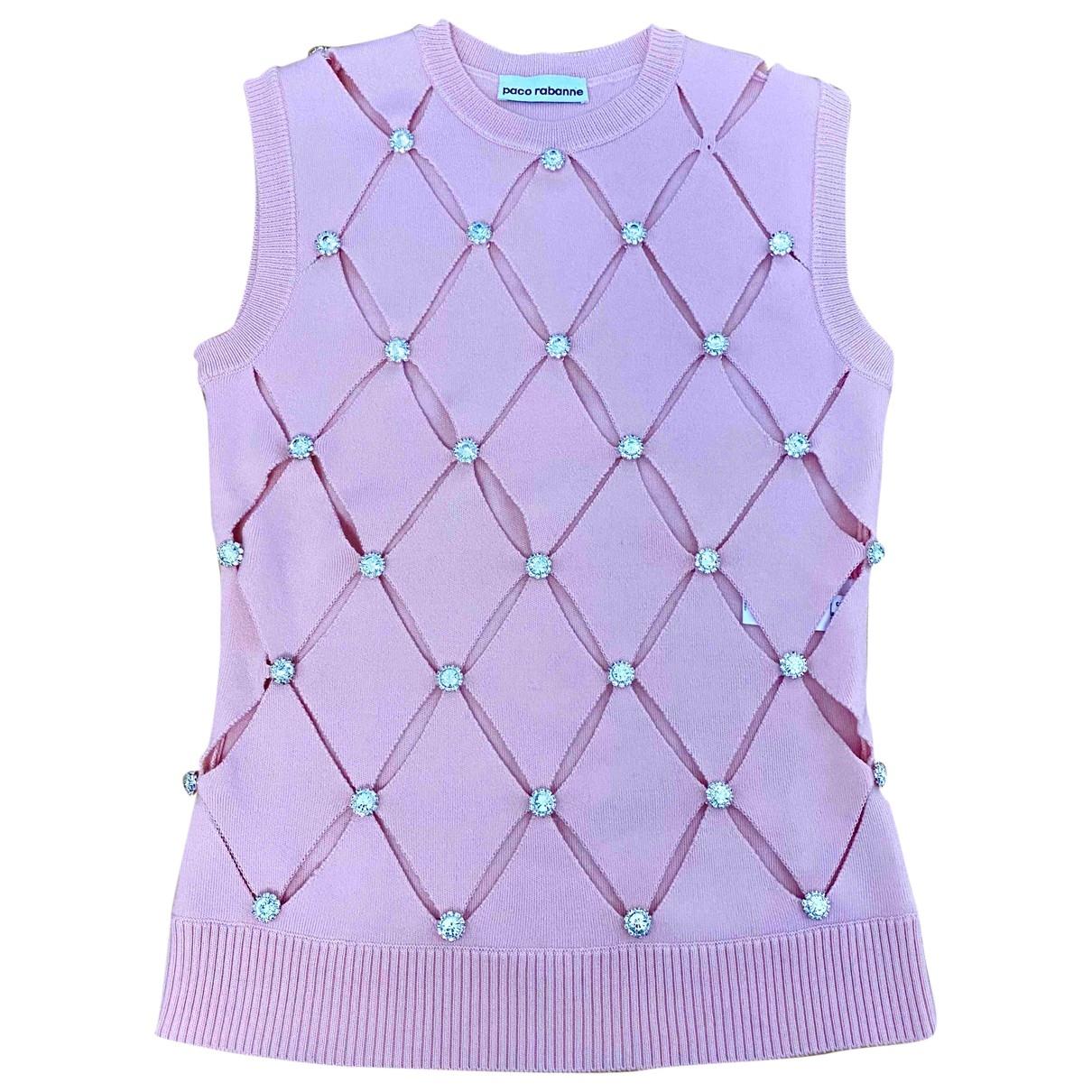 Paco Rabanne \N Pink Wool Knitwear for Women S International