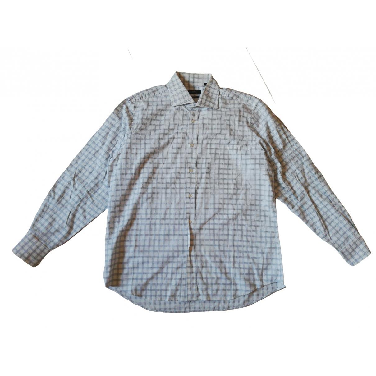 Hugo Boss - Chemises   pour homme en coton - multicolore