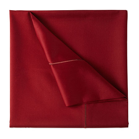 Wrinkle Guard 400TC Cotton Sheet Set, One Size , Red