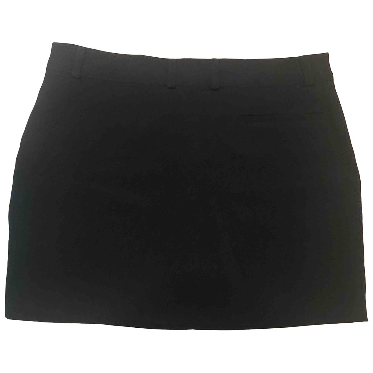 Sézane \N Black Cotton skirt for Women 36 FR