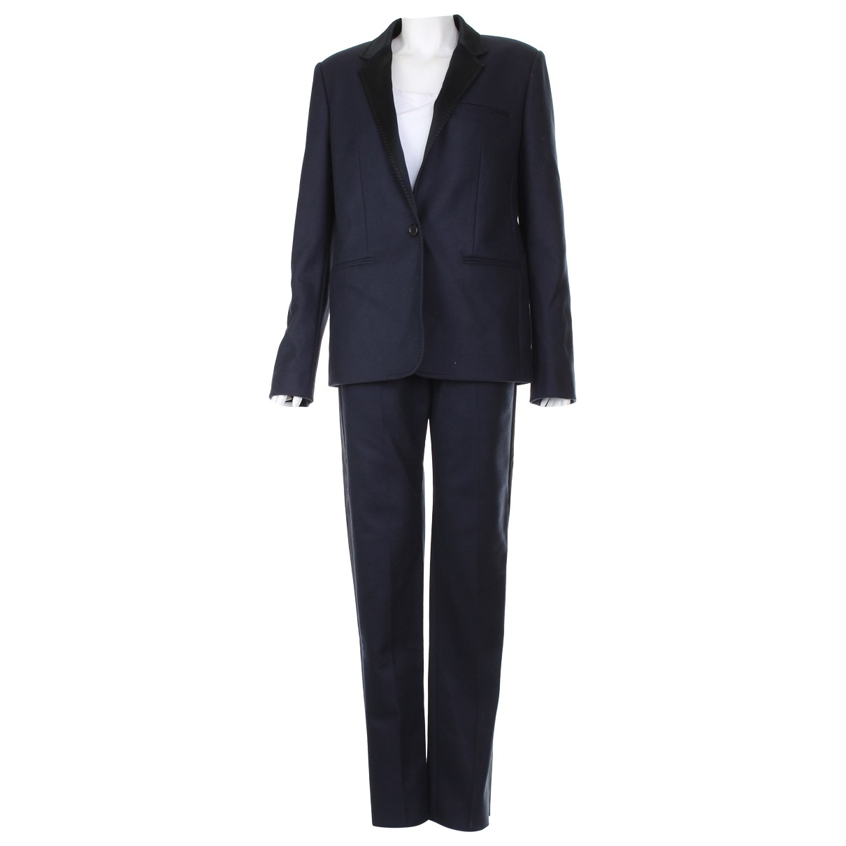 Mulberry \N Navy Wool jacket for Women One Size UK