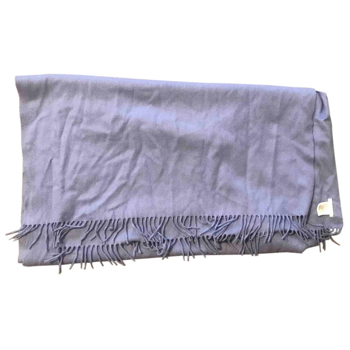 Cos N Blue Wool scarf for Women N