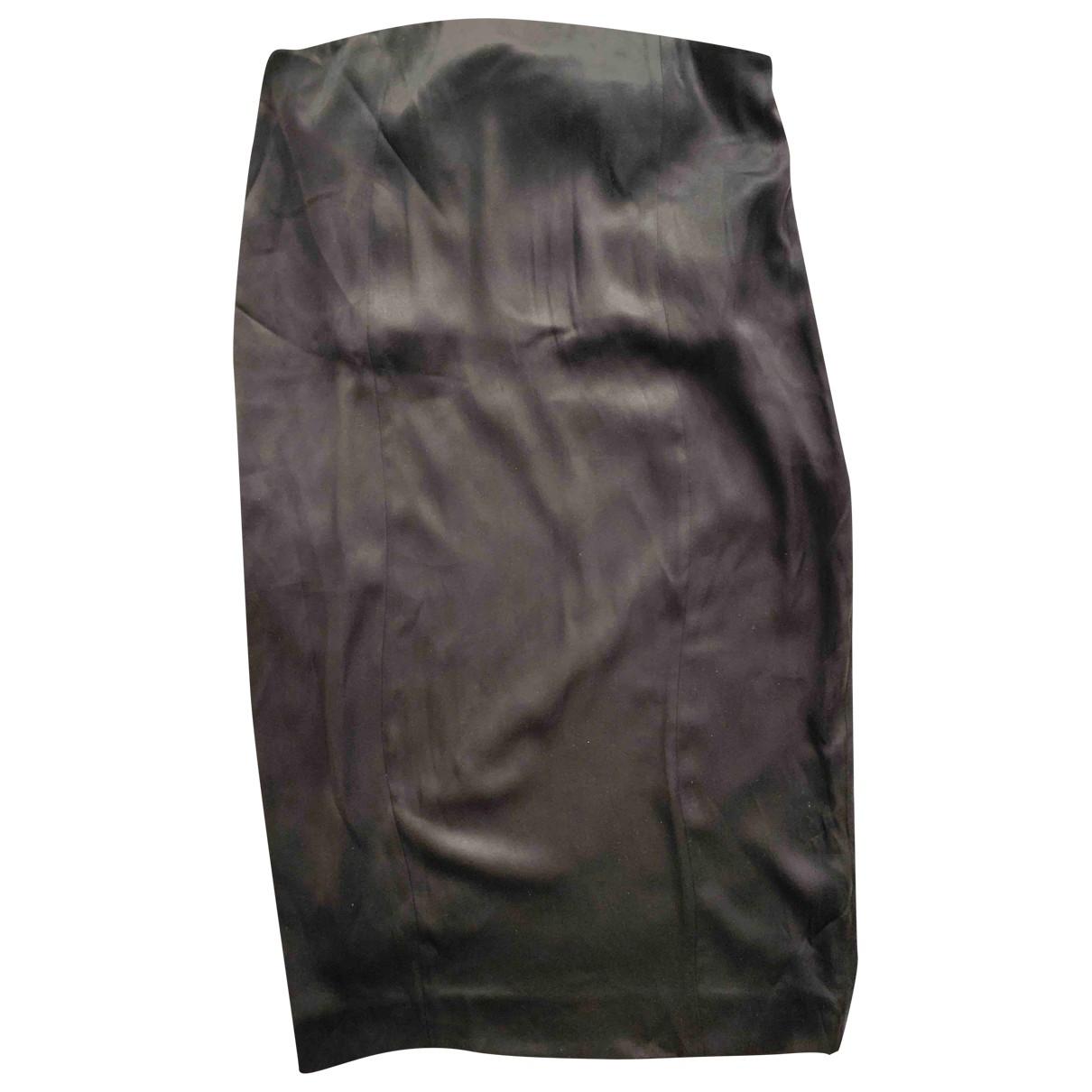 Celine \N Navy Silk dress for Women 34 FR