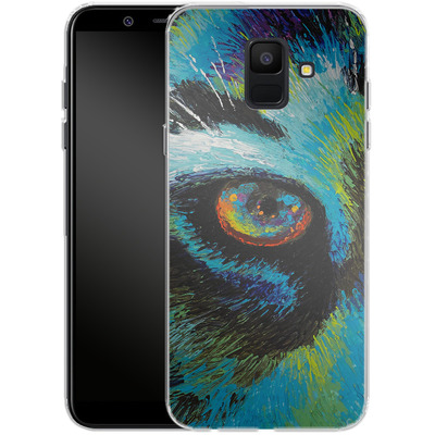 Samsung Galaxy A6 Silikon Handyhuelle - Will Cormier - Tiger Eyes von TATE and CO