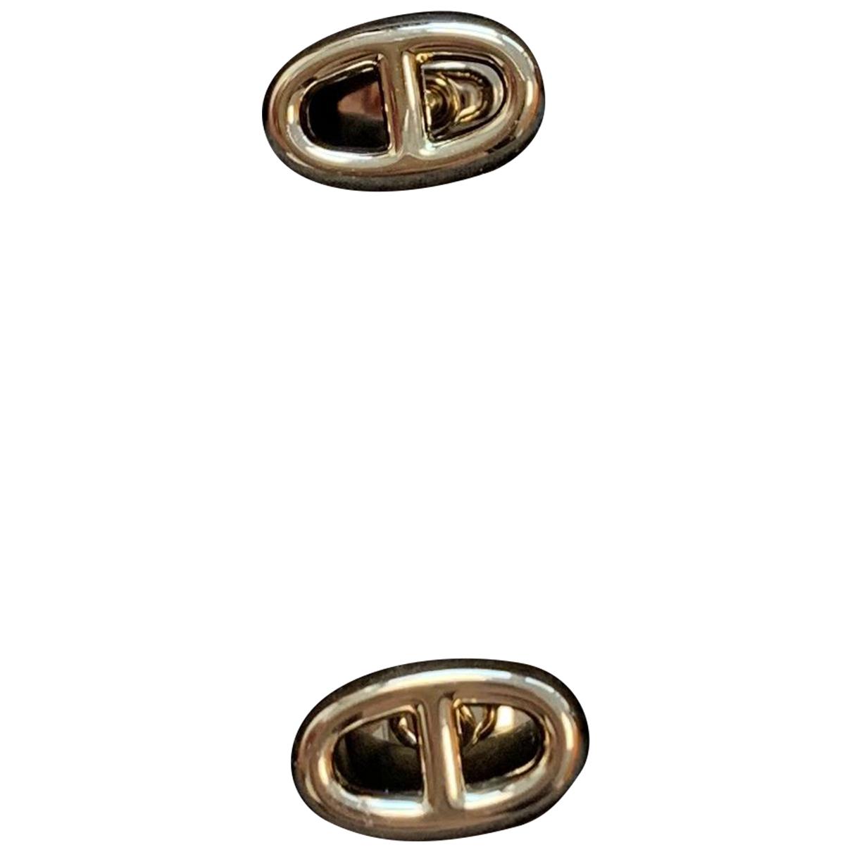 Hermès Chaîne d'Ancre Pink gold Earrings for Women N