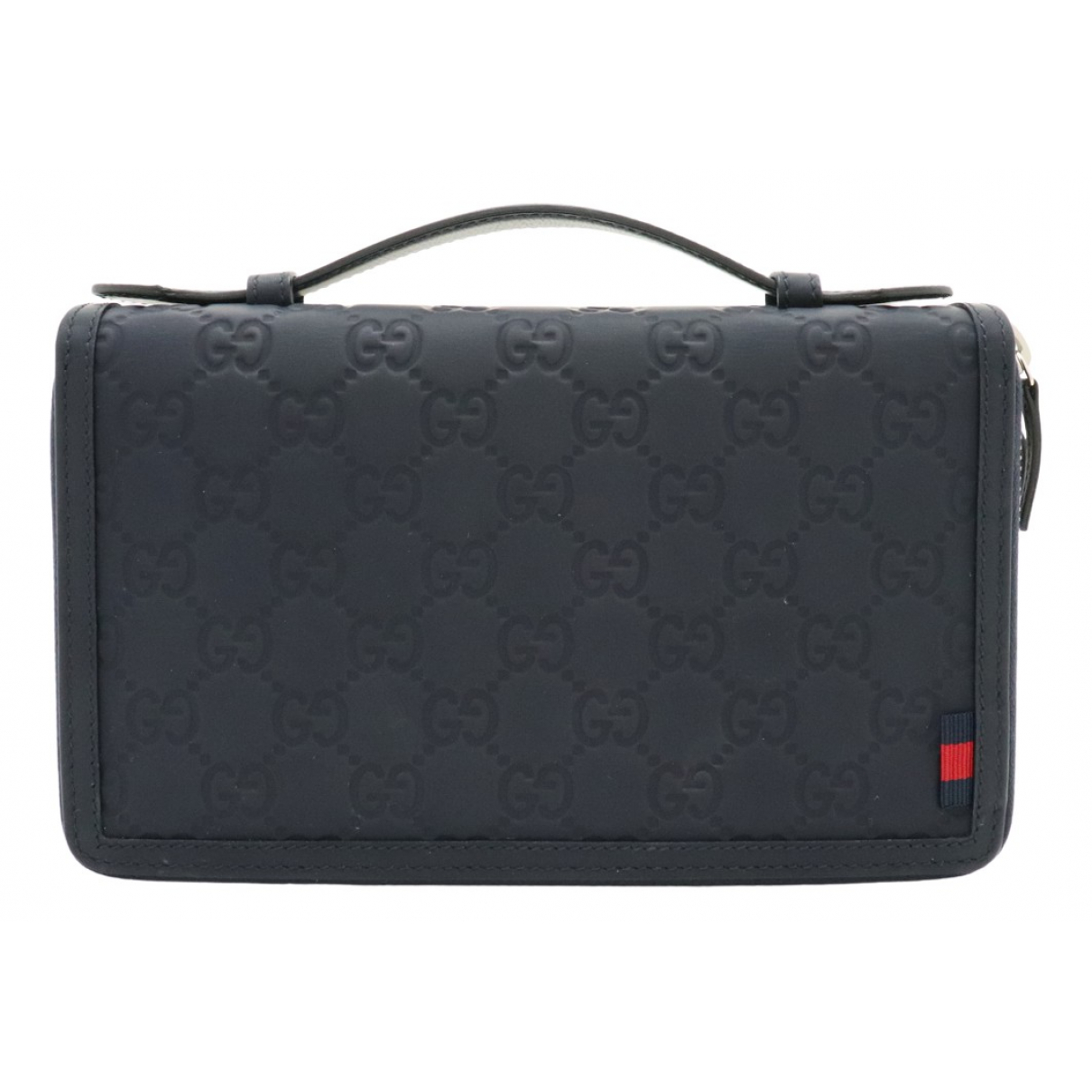 Gucci N Navy Leather Purses, wallet & cases for Women N