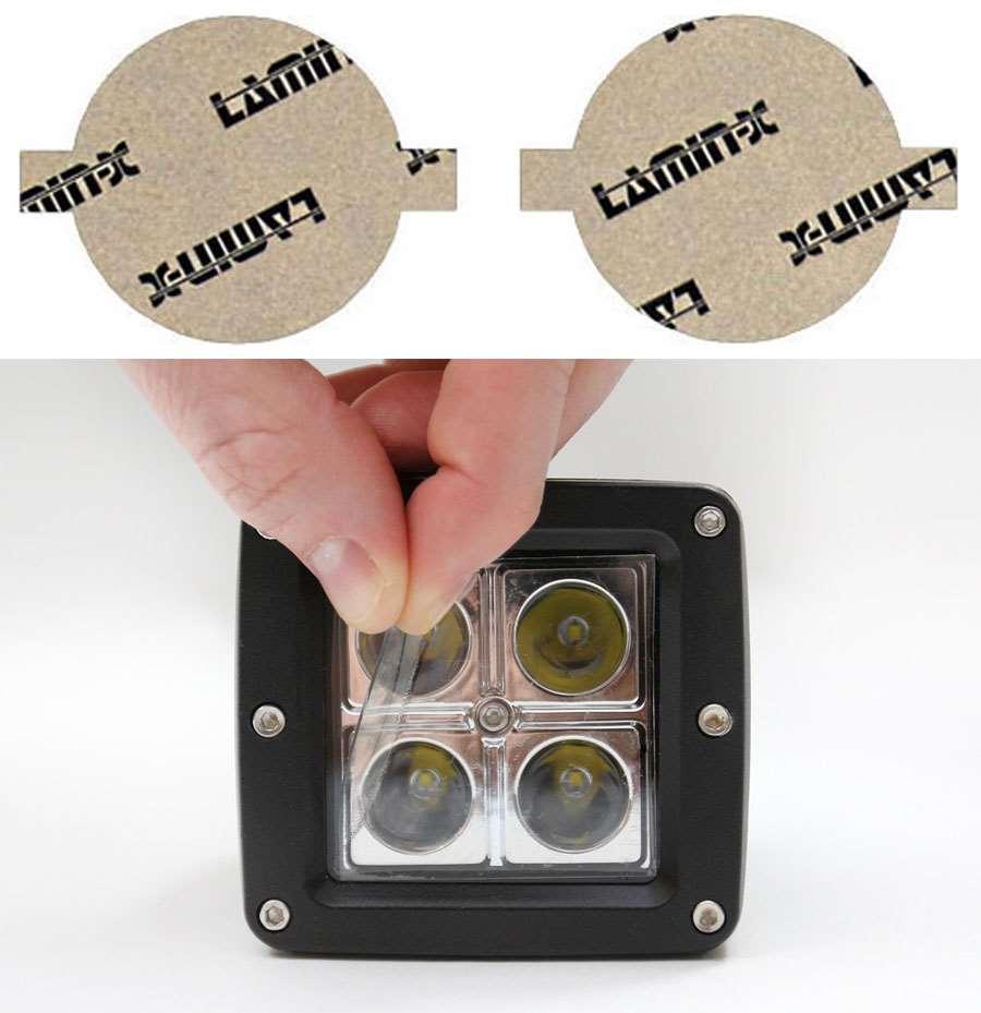 Acura ILX 13-15 Clear Fog Light Covers Lamin-X AC124CL