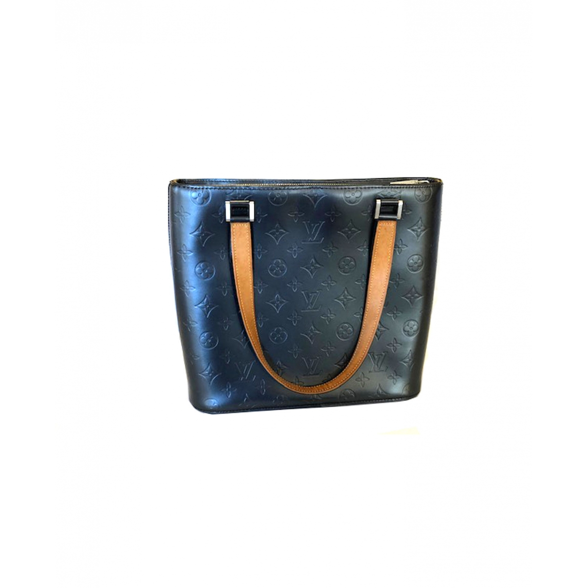 Louis Vuitton Houston Handtasche in  Schwarz Leder