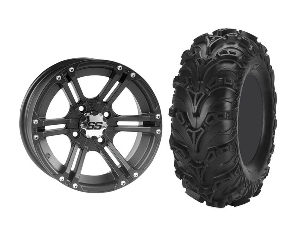 ITP KIT W373206/T374790 LEFT SS212 12x7 5+2 | 4x110 w/ITP KIT W373206/T374790 LEFT Mud Lite II 23x8-12 Wheel & Tire Package