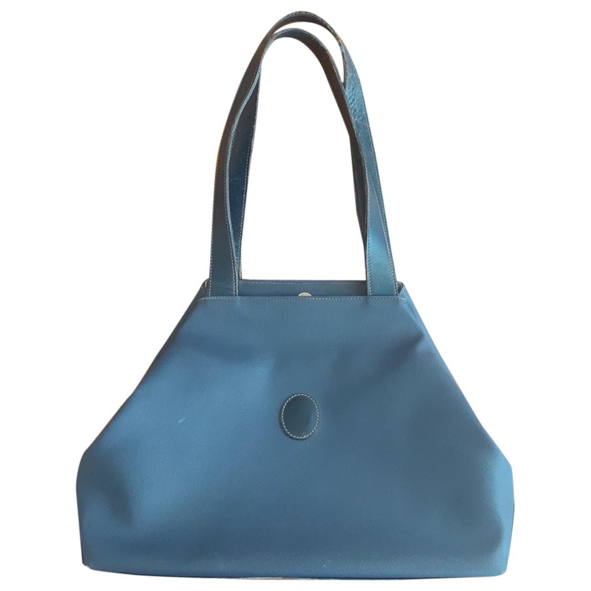 Trussardi \N Handtasche in  Blau Leder