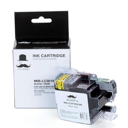 Compatible Brother MFC-J6530DW cartouche encre noire de Moustache, tres haut rendement
