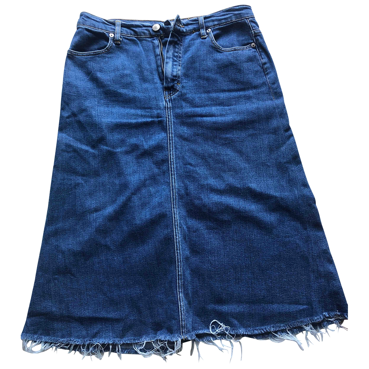 Zara \N Rocke in  Blau Denim - Jeans
