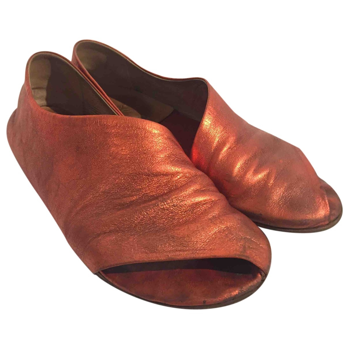 Marsell \N Sandalen in  Rot Leder