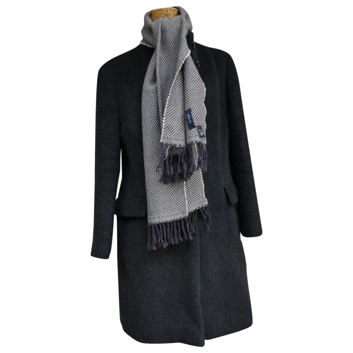 Seventy - Manteau   pour femme en laine - anthracite