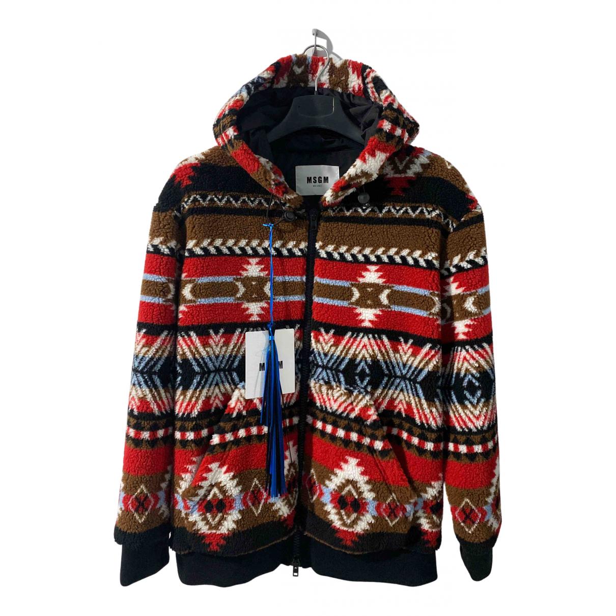 Msgm \N Pullover.Westen.Sweatshirts  in  Bunt Polyester