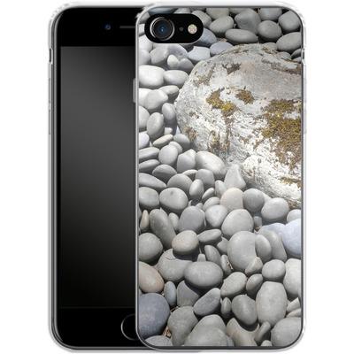 Apple iPhone 8 Silikon Handyhuelle - Zen Rocks von Brent Williams