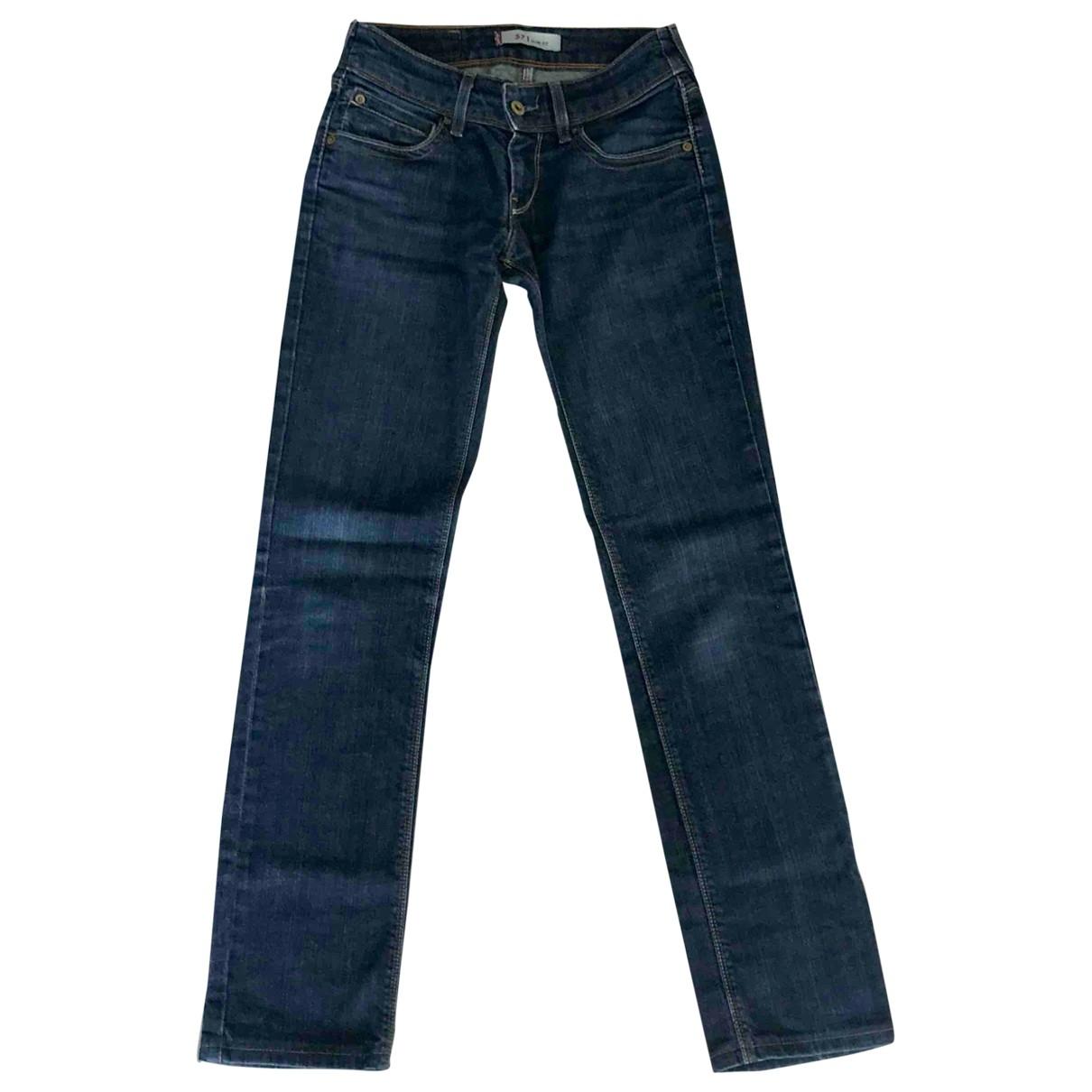 Levi's \N Blue Denim - Jeans Jeans for Women 25 US